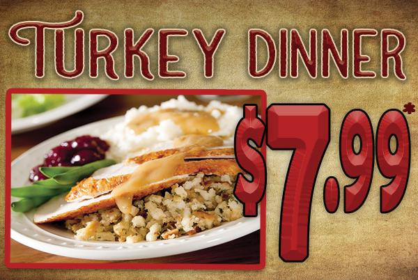 Turkey Dinner Special – Gold Ranch Casino & RV Resort